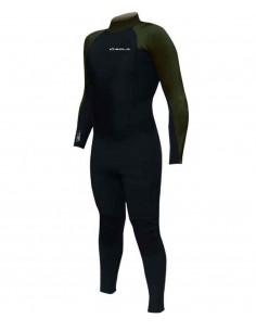 SOLA Wetsuit - H20 4/3 - Mens - Black/Olive
