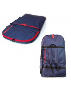 Surge Bodyboard Bag - Navy/Red