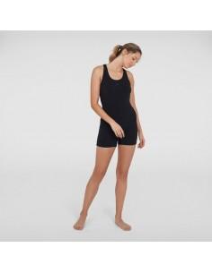Speedo Swimsuit - Endurance Legsuit - Black/Grey