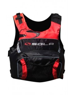 SOLA Overhead Buoyancy Aid - Scream - Red/Black