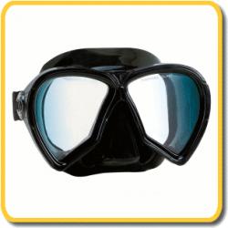 Imersion Mask - Pelagic - Black Silicone / Clear Lenses