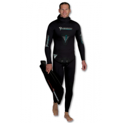 Imersion Wetsuit - Seriole Black - 7.0mm (Jacket + Pants)