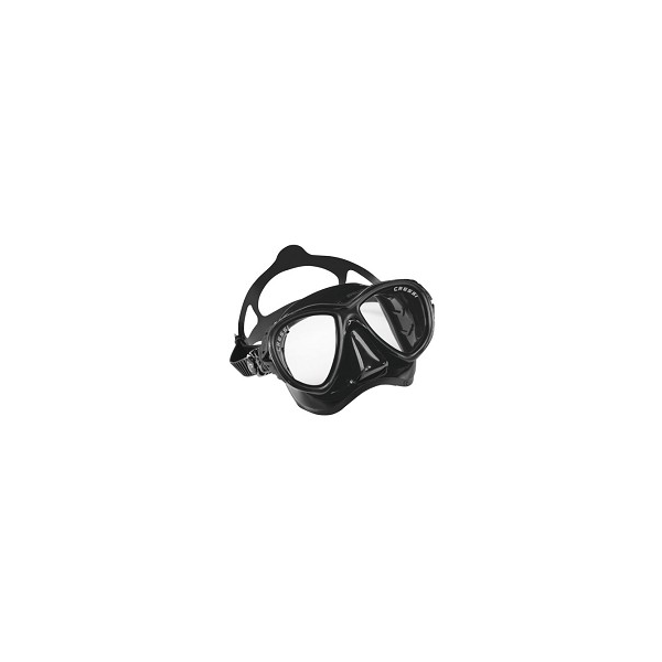 Cressi Mask - EYES Evolution - Black Silicone/Black Frame
