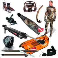 Spearfishing, Freediving & General Watersports Equipment